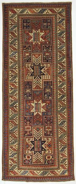 SHIRWAN LESGHI ANTICO PREMIUM AZERBAIJAN  - 260X103